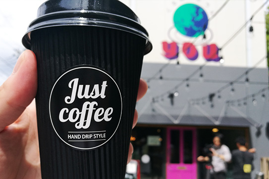 第3回フリーマルシェ Just coffee
